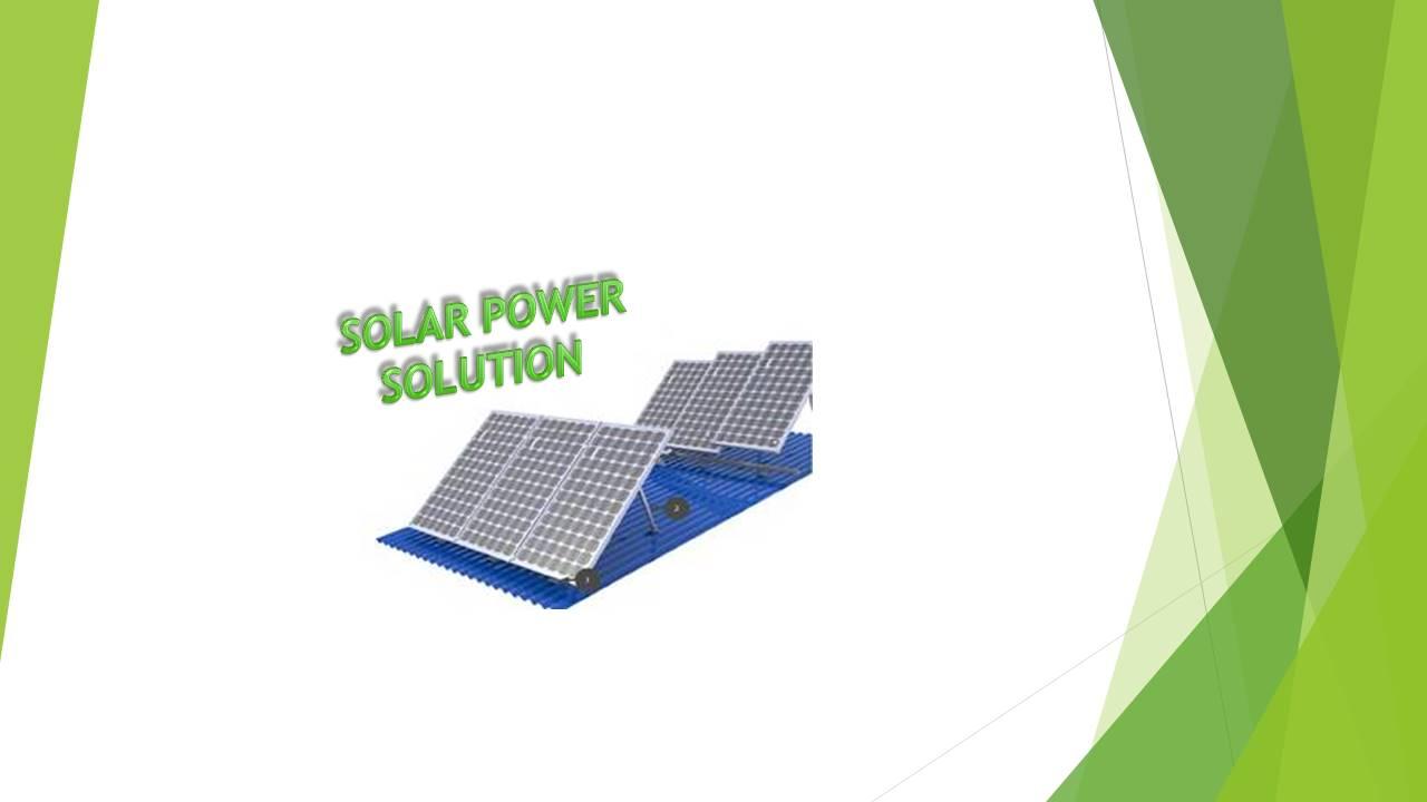 SOLAR POWER SYSTEM-1